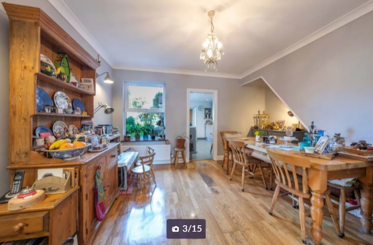 Inside the Diamond Road property. Credit: Zoopla