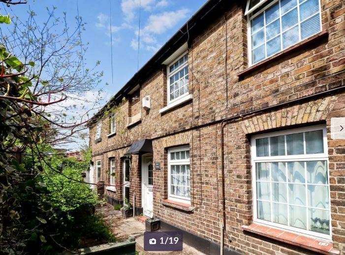 The terraced home in Bedford Street. Credit: Zoopla