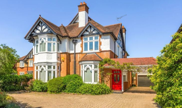 This house in Hempstead Road is on the market for a price tag of more than a million pounds. Credit: Zoopla