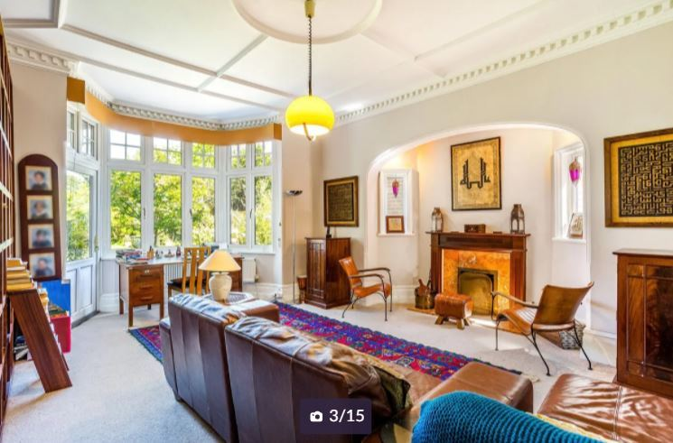 One of three reception rooms. Credit: Zoopla
