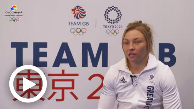 Hillingdon Times: TOKYO 2020 VIDEO - 'IT'S BEEN A DREAM OF MINE SINCE I WAS EIGHT' - LAUREN PRICE RELISHING TEAM GB BOW