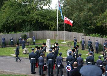 Service held at RAF Uxbridge to remember 'The Few'