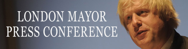 Hillingdon Times: Mayor's press conference header