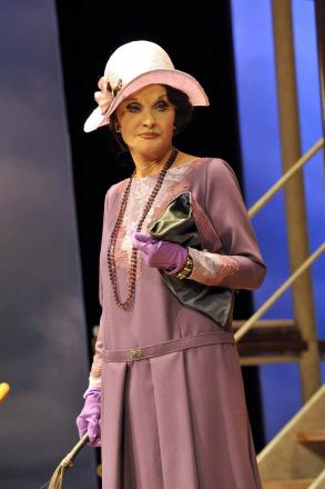 Kate O'Mara as Miss ffoliot-ffoulkes