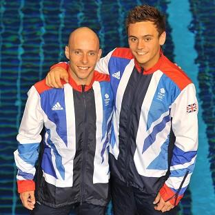 GB Olympic diving team members Pete Waterfield and Tom Daley will compete in the synchronised 10m platform final