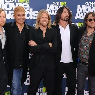 Dave Grohl sparked rumours the Foo Fighters were splitting