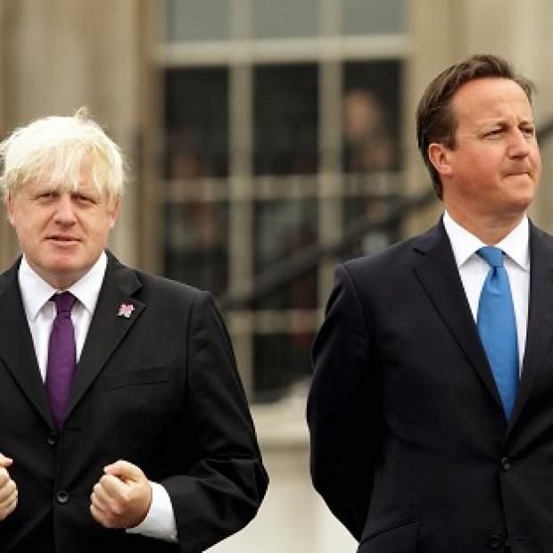 London Mayor Boris Johnson insists he supports Prime Minister David Cameron