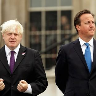 David Cameron said he is not worried about the 'rock star status' of Boris Johnson