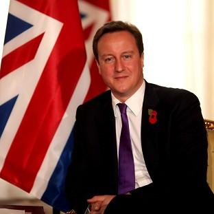 David Cameron announced plans to for a five million educational programme to mark the centenary of the First World War