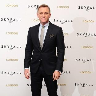 Daniel Craig is playing James Bond for the third time in Skyfall