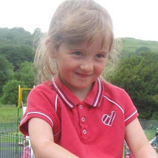 April Jones was abducted while out playing near her home in the Bryn Y Gog estate in Machynlleth, mid Wales, a month ago