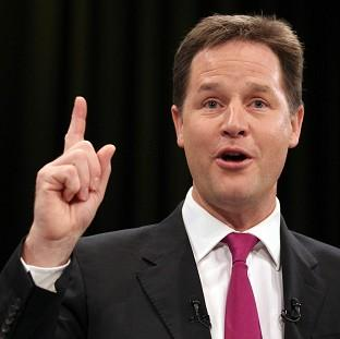Nick Clegg said a real-terms cut in the UK's contribution to the EU is unachievable