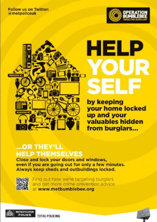 Clocks change brings out burglars in Hillingdon