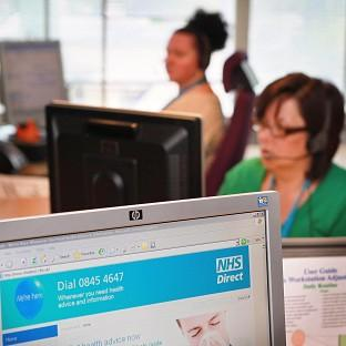 The Government is planning to close 24 NHS Direct call centres, Unison claimed