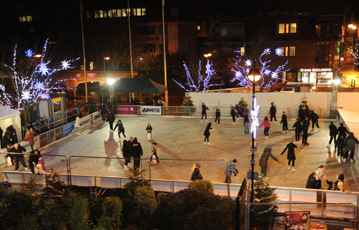 Ice treat: bookings begin this Wednesday for the rink