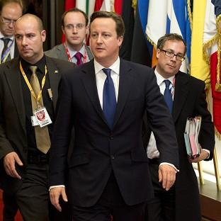 Hillingdon Times: Prime Minister David Cameron is trying to press the case for an EU budget cut (AP)