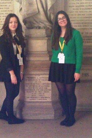 Standing for Parliament: Fjolla and Soila