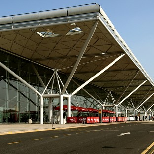 Stansted Airport closed due to snow
