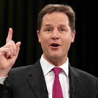 Deputy Prime Minister Nick Clegg said he was pro-reform in terms of tackling drugs
