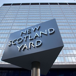 A suspected terrorist has gone missing, Scotland Yard says