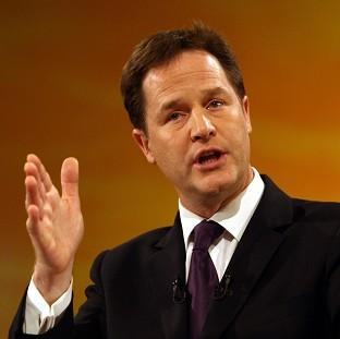 Hillingdon Times: Nick Clegg said 'you can't do the right thing in government unless you keep in touch with how people are thinking and feeling'