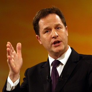 Nick Clegg said 'you can't do the right thing in government unless you keep in touch with how people are thinking and feeling'
