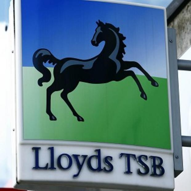 Lloyds Banking Group recorded pre-tax losses of 570 million pounds in 2012