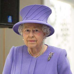 The Queen is in hospital suffering from a stomach bug