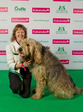 Top dog: Can Hugo and owner Rae repeat last year's success?