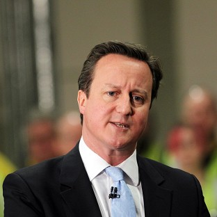 Cameron standing by economic policy