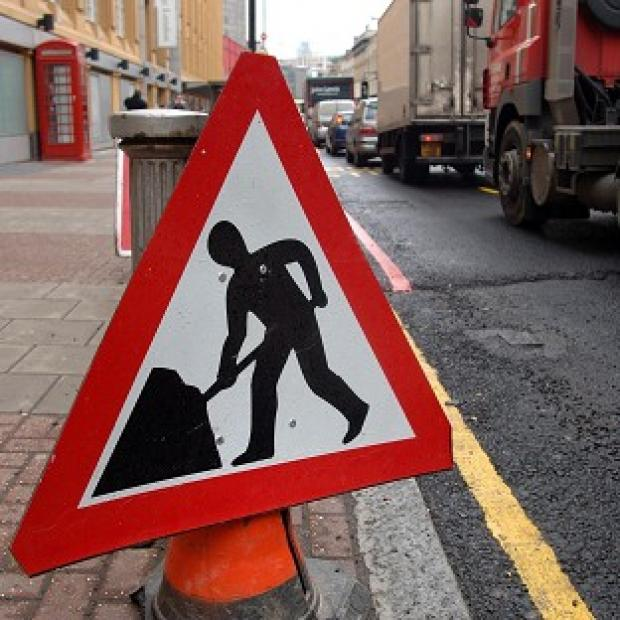 At present roadworks stretch for 1,434 miles, figures have shown
