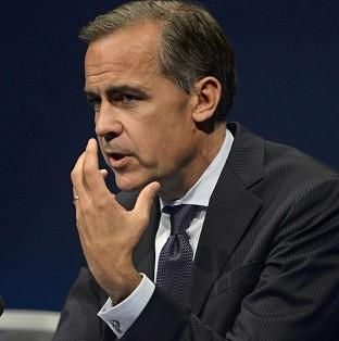 Mark Carney said the Bank of England was watching rising house p