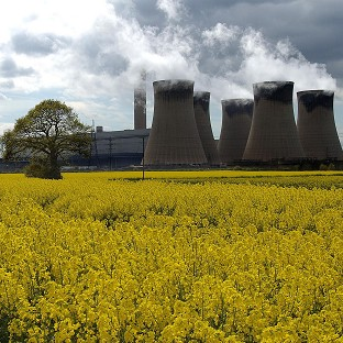 Drax was built as a coal-fired station but three of its six units are being converted to burn biomass