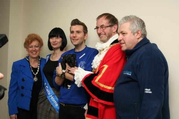 Special guest: Sparkle and helpers with the mayor and mayoress