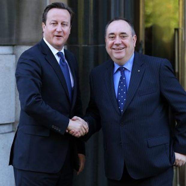 Hillingdon Times: Pressure is mounting on David Cameron to enter into a face-to-face debate with Alex Salmond on Scottish independence