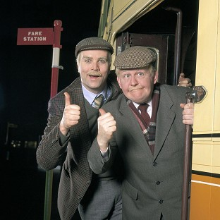 Ford Kiernan, right, with comedy co-star Greg Hemphill in BBC Scotland's Still Game.