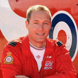Hillingdon Times: Flight Lieutenant Sean Cunningham was fatally injured after being ejected from his cockpit