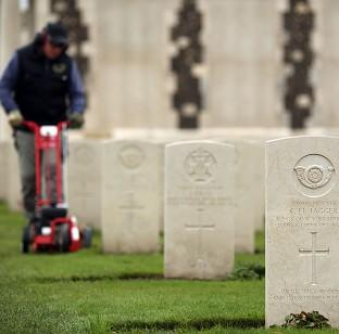 Hillingdon Times: The Tyne Cot Cemetery and Memorial in Ypres, Belgium, as the Commonwealth War Graves Commission prepares for the centenary of the outbreak of the First World War