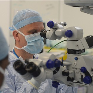 Sight restored to eye disease men