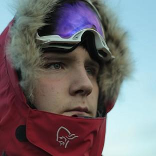 Hillingdon Times: Lewis Clarke is raising money for youth charity the Prince's Trust on his trek to the South Pole