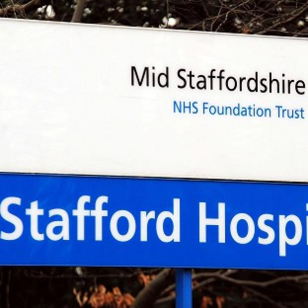 Hillingdon Times: Stafford General Hospital where an inquiry found failings in standards of care