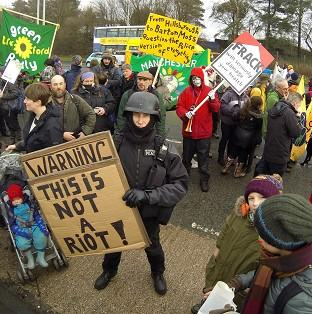 Environment Secretary Owen Paterson said fracking opponents may be winning the war for public opinion because they wear