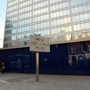 Scotland Yard said three officers from the Diplomatic Protection Group had been arrested but will not