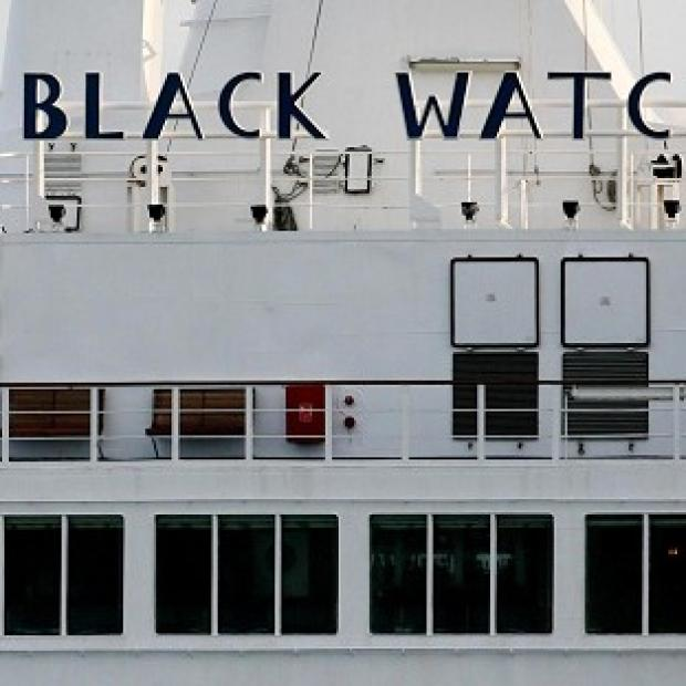 Hillingdon Times: The Black Watch cruise liner has been forced to dock off Chile because of mechanical problems