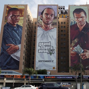 GTA V is thought to be one of the best-selling video games of all time (AP)