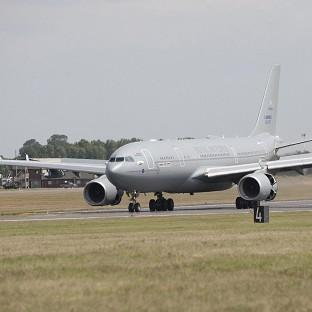 The RAF is to pause flying of its military-registered Voyager planes after one plummeted several thousand feet during a flight to Afghanistan.