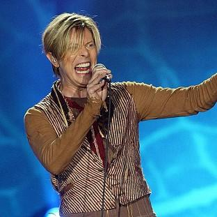 Hillingdon Times: File photo dated 17/11/03 of Singer David Bowie who is tipped for his first prize at the BRIT Awards for almost two decades, with Arctic Monkeys and Ellie Goulding also among favourites for the big event tomorrow.