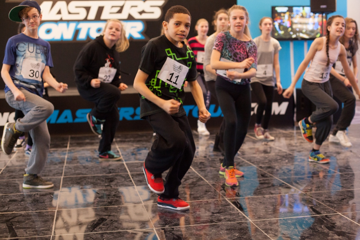 Hip-hop mastery: dancers learned the key moves