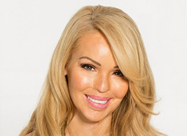 Katie Piper: Q and A session in Hayes