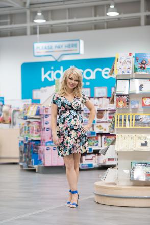 Sharing stories: mum-to-be Katie Piper in Hayes